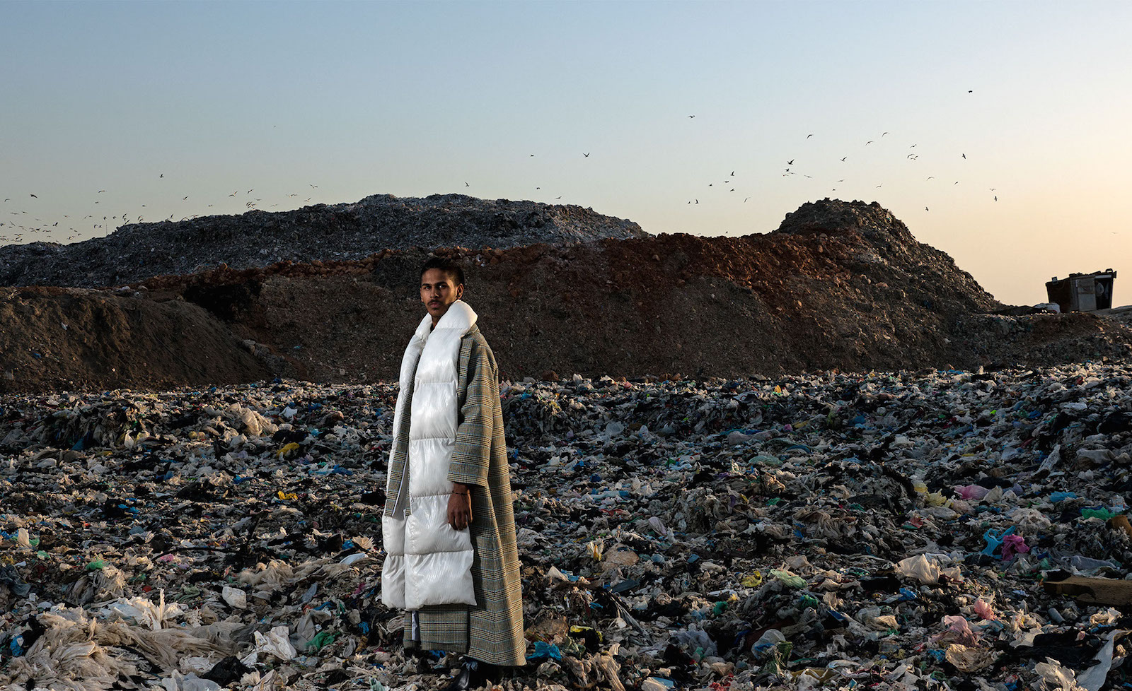 This Lebanese Designer's New Shoot on 'Garbage Mountain' is a Reminder of the Unsolved Trash Crisis