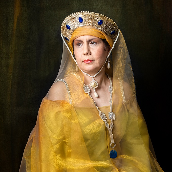 Refugees as Royals: The Striking New Photo Series Repainting History
