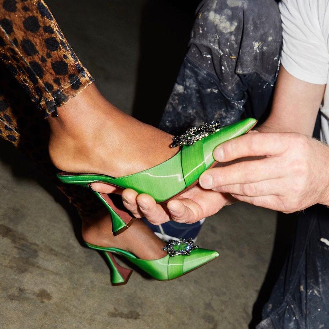 Rihanna Just Hired Jordanian Shoe Designer Amina Muaddi for Fenty