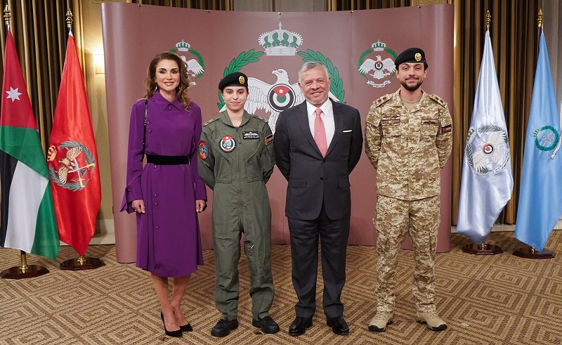 Queen Rania's Daughter Princess Salma Is Making History as Jordan's First Fighter Female Pilot