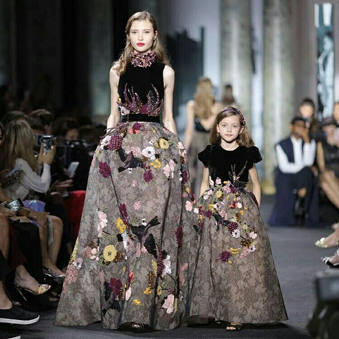 Lebanese Couturier Elie Saab is Launching his First Children's Line