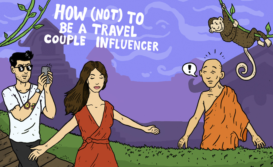 How (Not) to be an Instagram Travel Couple Influencer
