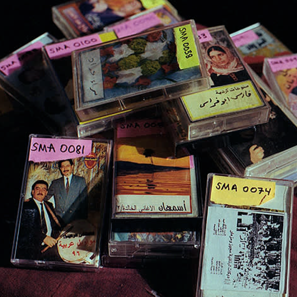 SYRIAN CASSETTE ARCHIVES: Preserving Syrian Musical Heritage One Tape at a Time