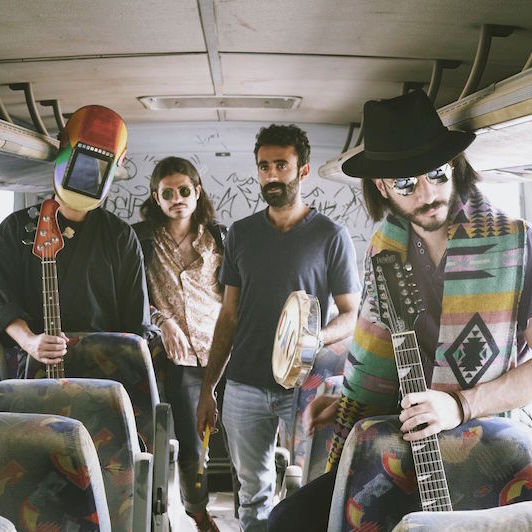 From Space to Kuwait: Meet Psychedelic Indie Band Galaxy Juice