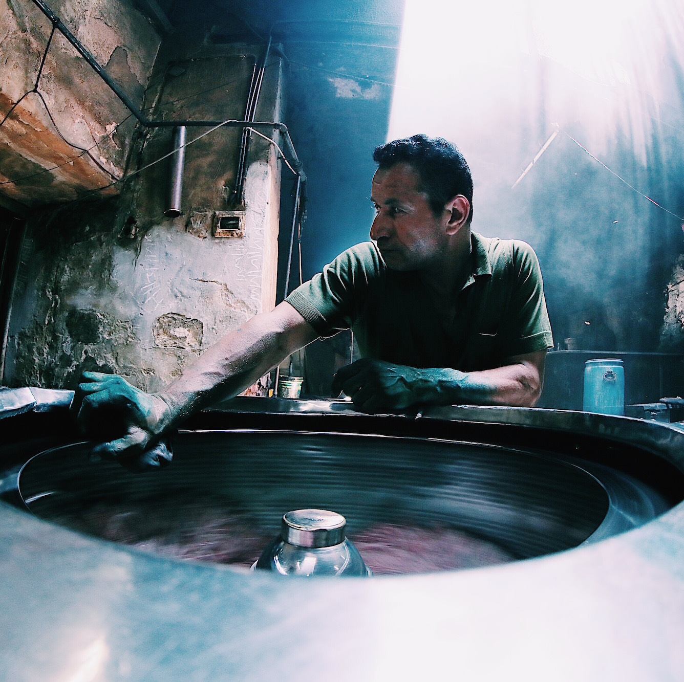 Living and Dyeing: Behind the Basins at Cairo's Oldest Dyehouse